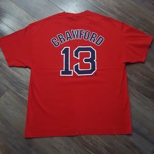 Carl Crawford Red Sox Shirt Sz XXL New
